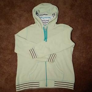 """MADE FOR LIFE"" Zip front women's hoodie"